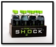 Buy Shock H2O caffeinated water